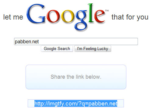 Google for deg